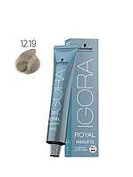 Перманентная краска 12-19 Igora Royal Highlift (с техн. FibreBond) Специальный блондин сандре фиолетовый 60 мл