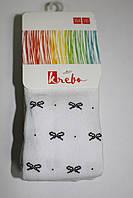 Детские хлопковые колготы для девочек ТМ Кребо, Польша р-р 146-152