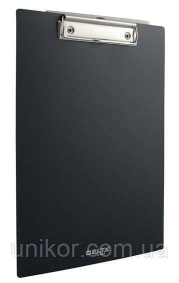 Планшет пластиковый А4, черный. Delta by Axent