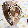 Наручные часы Geneva platinum бежевые