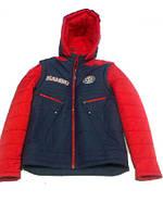 """Куртка """"Трансформер"""" с отстежными рукавами, ткань плащёвая 46р."""