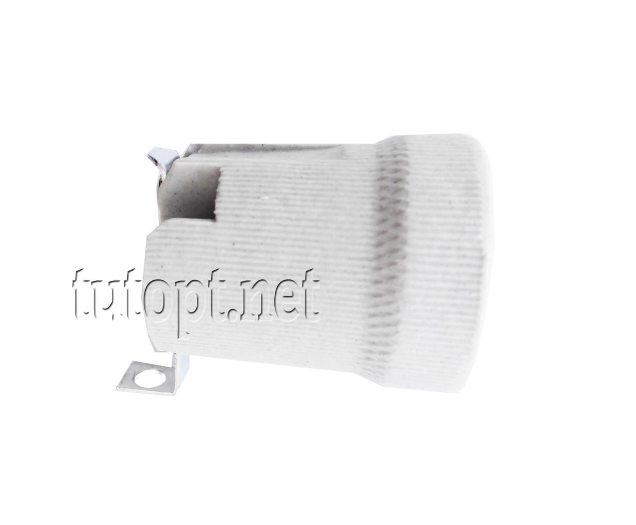 "Патрон ""ЕМР"" под лампочку керамический E27-220V"