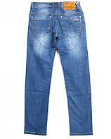Мужские джинсы синие оптом фирмы POBEDA
