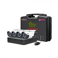 Комплект видеонаблюдения для улицы Partizan Outdoor Kit 2MP 4xAHD, фото 1