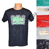 Мужская котоновая футболка H7v (в уп. до 5 разных расцветок) оптом со склада в Одессе