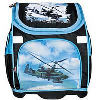 """Ранец школьный ортопедический трансформер """"Вертолет"""" JOSEF OTTEN FY-31"""