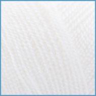Пряжа для вязания Valencia Arabella, 001 (White) цвет