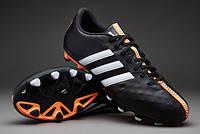 Футбольные бутсы(копочки) Adidas 11Nova Black (КОЖА)
