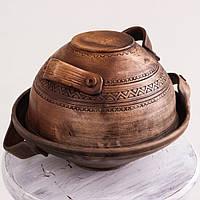 Глиняна каструлька 30см