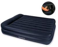 Велюр кровать 66702 (2шт) встроенный насос, 203-152-47 см, в кор-ке