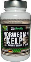 Натуральный йод Norwegian Kelp Ult:Rovita 120 caps Германия