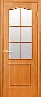 Межкомнатные двери Новый Стиль модель Классик ПО ПВХ стекло сатин