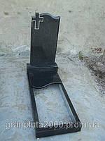 Одиночный одинарный гранитный памятник №5