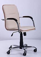 Кресло Самба-RC Хром орех Неаполь N-17 с кантом