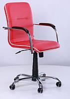 Кресло Самба-RC Хром орех Неаполь N-36 с кантом