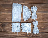 Набор для венчания белый (арт. WS-001)