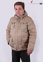 Куртка мужская пуховик зимняя Avecs AV-846 Размеры 48 50 52