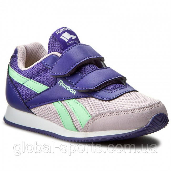 c237356a Детские кроссовки Reebok ROYAL CLJOG 2 2V (Артикул: BD4016) - магазин  Global Sport