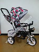 Детский трехколесный велосипед коляска Trike, колеса EVA