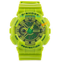 Спортивные часы Casio G-shock GA-110 Lime (Касио)