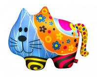 Антистресс Кот с цветочками мягкая игрушка DT-ST-01-62 Danko toys
