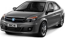 Защита двигателя на Geely GC6 седан (с 2014---)