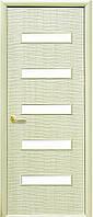 Межкомнатные двери Новый Стиль модель Сахара ПО  5s ПВХ Deluxe (стекло сатин)