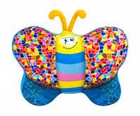 Антистресс Бабочка джинсовая мягкая игрушка DT-ST-01-56 Danko toys