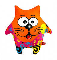 Антистресс Собака-звезда оранжевая мягкая DT-ST-01-47 игрушка Danko toys