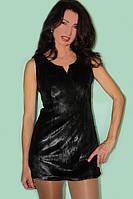 Платье из меха морского котика