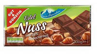 Шоколад Edel Nuss