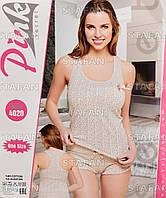 Женский комплект майка+шорты Турция PinkSecret 4020. Размер 44-46.