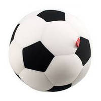 Антистресс Футбольный мяч белый мягкая DT-ST-01-09 игрушка Danko toys