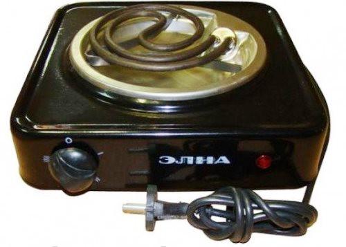 Электрическая плитка Элна тен 100Н (1 конфорка, 1 кВт)