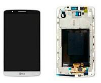 Дисплей (экран) для LG D690 G3 Stylus + с сенсором (тачскрином) и рамкой белый