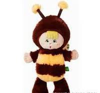 Пчелка Крошка мягкая игрушка музыкальная К357Т  38см Левеня