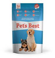 Силикагелевый наполнитель для туалетов щенков Pet's Best Blue Mint 3.6л/8