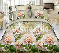 Комплект постельного белья полиэстер 3D ТМ KRIS-POL (Украина) полуторный 4985069