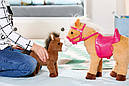 Интерактивная лошадка с жеребенком куклы Беби Борн Baby Born Zapf Creation 822371, фото 8
