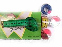 Сантиметры в пластиковой коробочке, 12шт в упаковке (длина 150см)