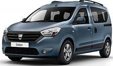 Защита двигателя на Renault Dokker (c 2012--)