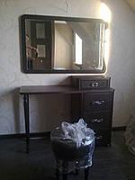 Будуарный столик с кожзамом