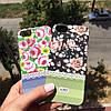 Пластиковый чехол с цветочным принтом для iPhone 5/5s/se, фото 2