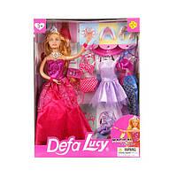 Кукла Defa Lucy с дополнительными нарядами и аксессуарами (8269)