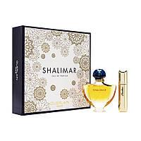 Женский парфюмированний набор GUERLAIN SHALIMAR SOUFFLE DE PARFUM edp 50+edp 15