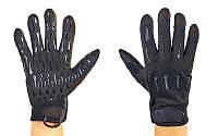 Перчатки тактические с закрытыми пальцами BLACKHAWK (рр L-XL, черный), фото 1