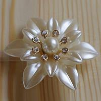 Декоративный магнит-подхват для штор и тюли Цветок №1
