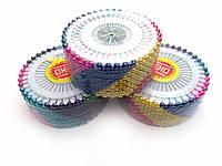 Игла портновская, цветная (упаковка 3и кольца)