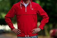 Красный анорак (куртка, ветровка) Fred Perry (опт и розница)