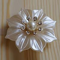 Декоративный магнит-подхват для штор и тюли Цветок №2